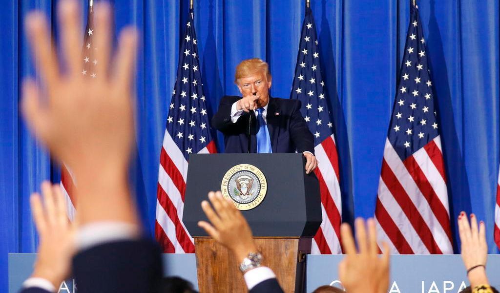 Afirma ONU que Trump influyó en el retroceso global de la libertad de prensa