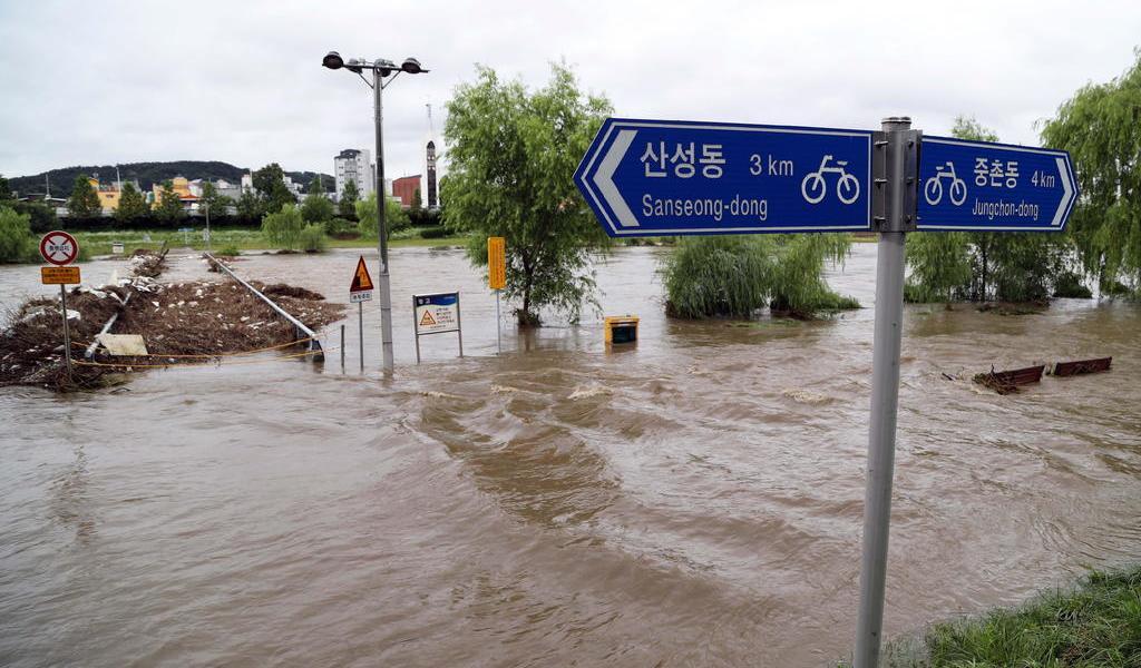 Inundaciones en Asia dejan cientos de muertos