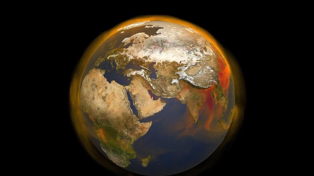 Registran emisiones mundiales de metano niveles récord