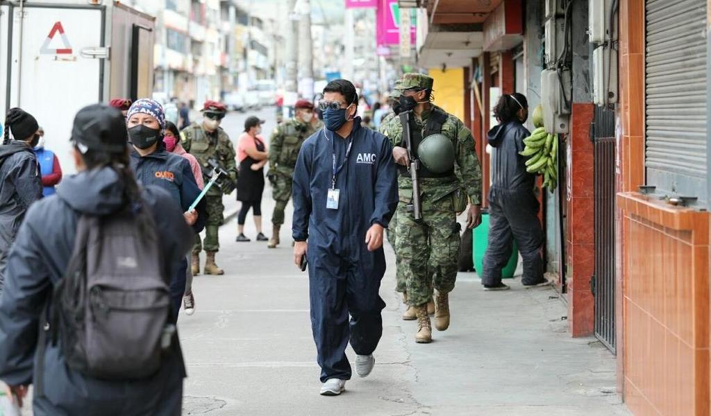 Llega Ecuador a los 74,620 casos de COVID-19