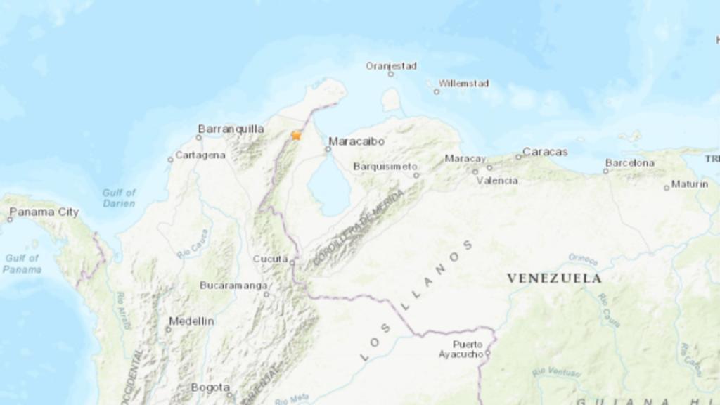 Sacude sismo a Colombia