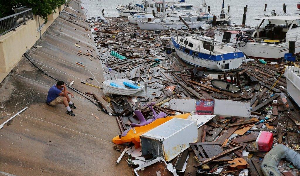 Declaran emergencia en Texas por huracán Hanna