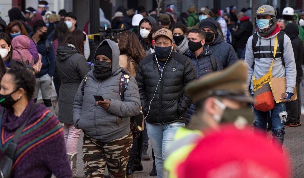 Registra Chile 2,081 contagios de COVID-19 en las últimas 24 horas