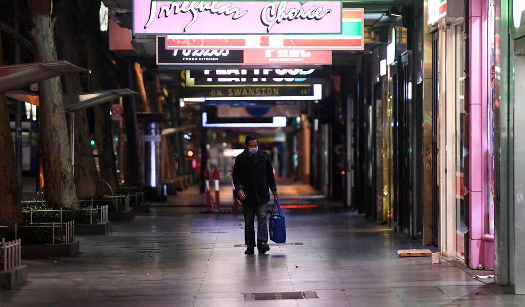 Australia impone toque de queda en Melbourne