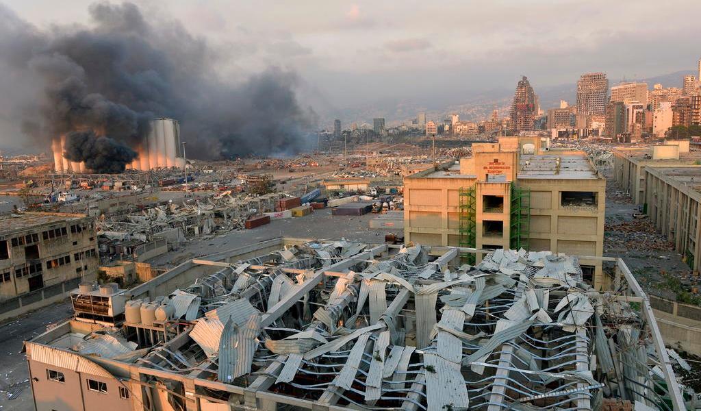 Me recuerda a Hiroshima y Nagasaki: gobernador de Beirut