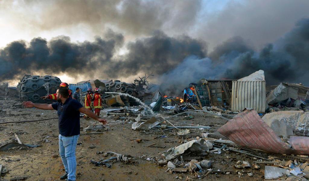 Aumenta a 73 las muertes por la explosión en Beirut