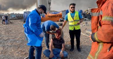 Muertos por explosión en Beirut superan el centenar