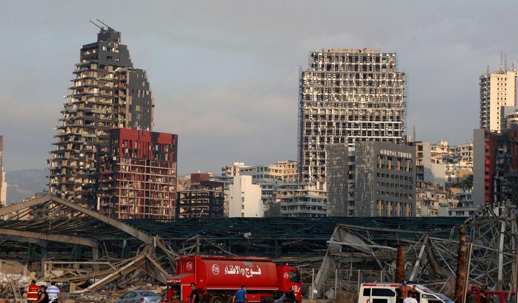 Beirut, dolor e indignación entre la destrucción