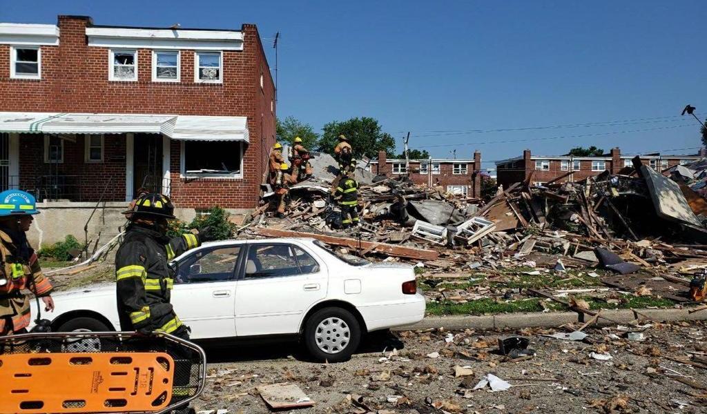 Reportan al menos un muerto y varios heridos por explosión en Baltimore