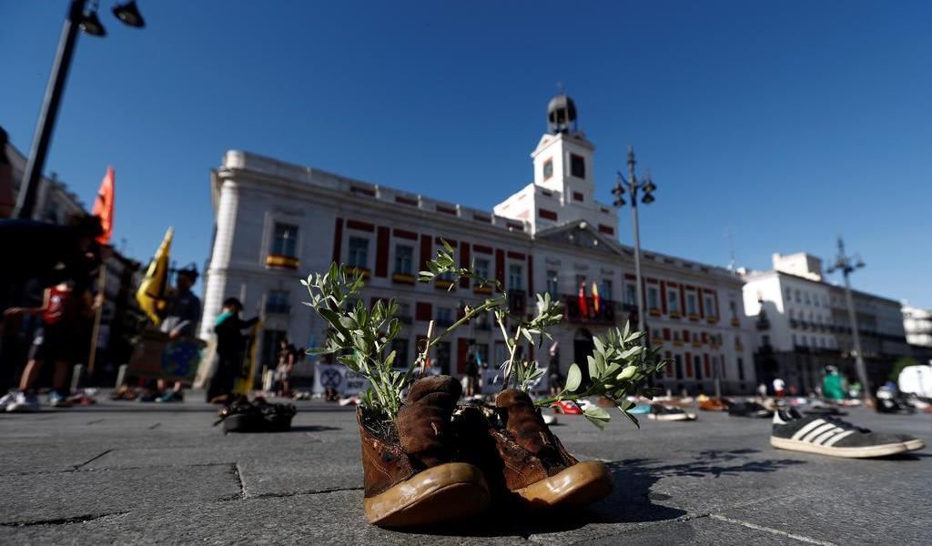 Puerta del Sol de Madrid cambia en beneficio del peatón