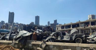 Se busca hasta el último desaparecido en el puerto de Beirut