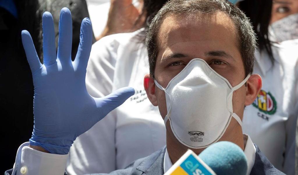Insta Guaidó a Unión Interparlamentaria a rechazar comicios venezolanos