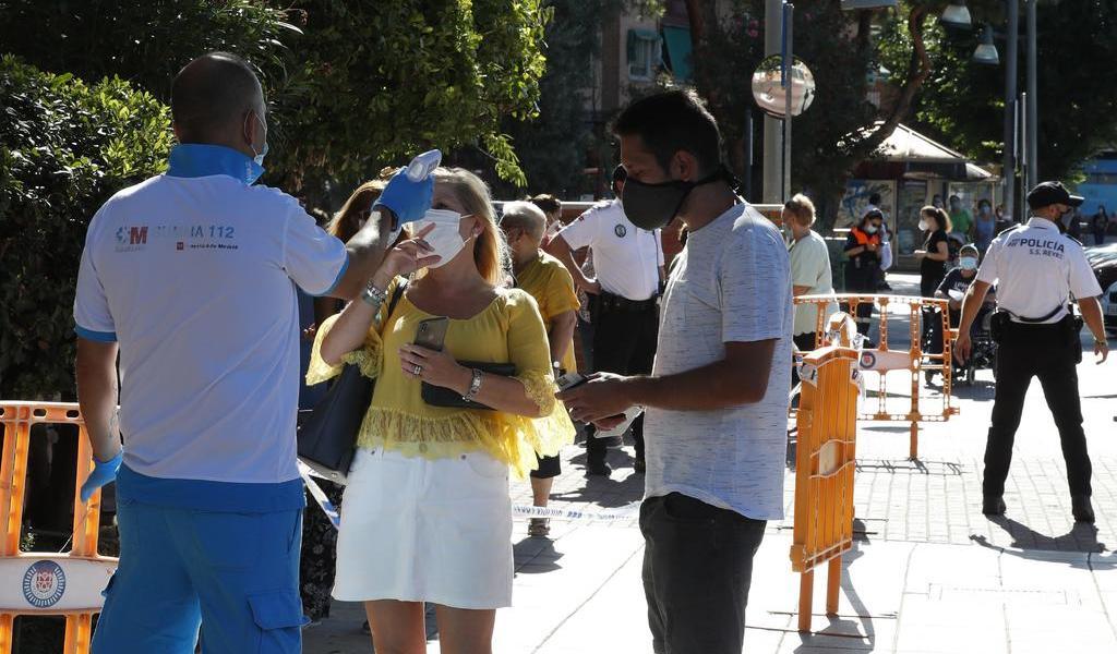 Recomienda Madrid no salir de casa por aumento de casos de COVID-19