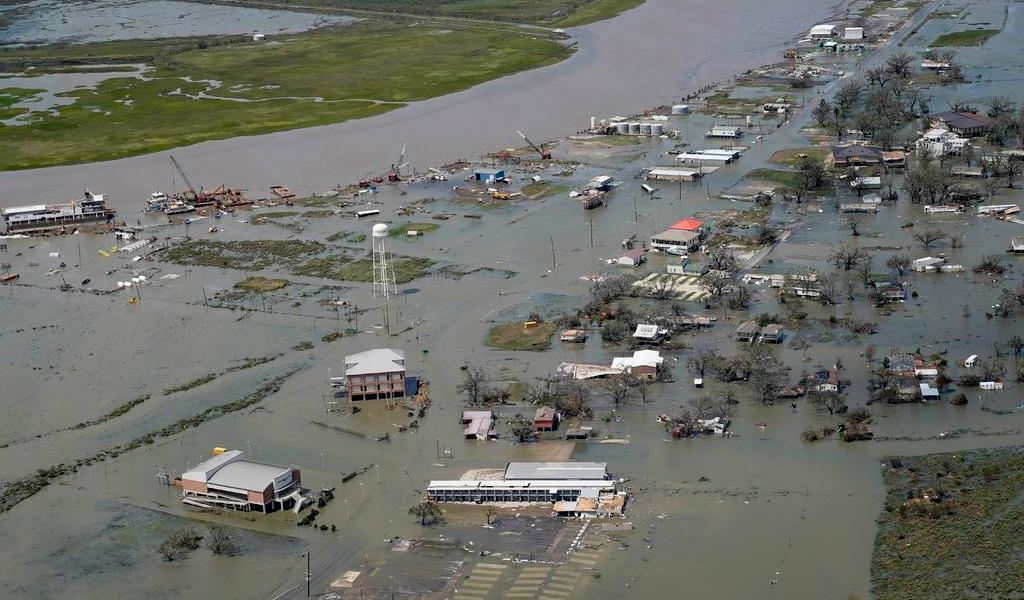 Avanza tormenta 'Laura' a Arkansas tras dejar afectaciones en Luisiana