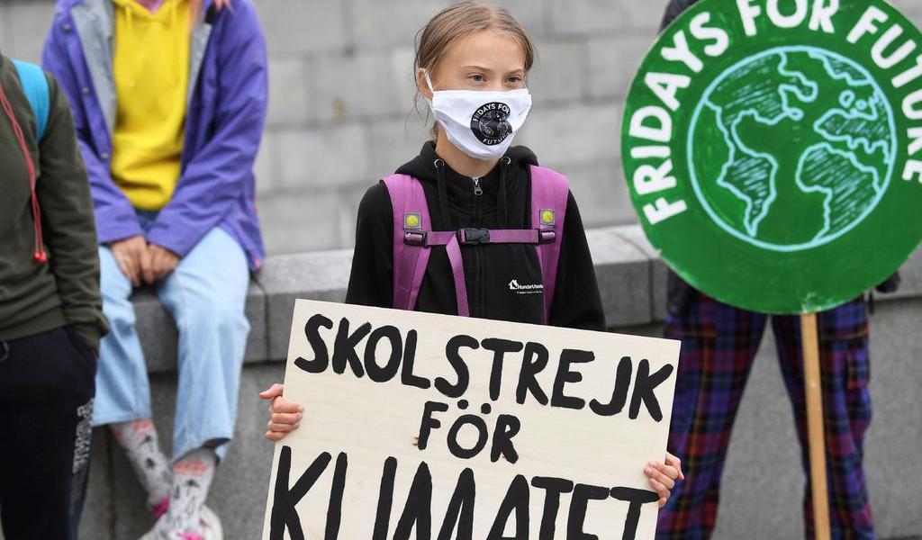 'Yo pienso por mí misma', dice Greta Thunberg al negar ser usada