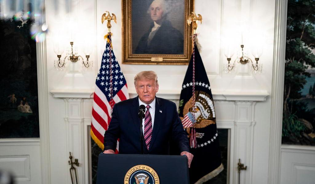 Asesores cercanos a Trump lo consideran 'incapacitado' para la presidencia