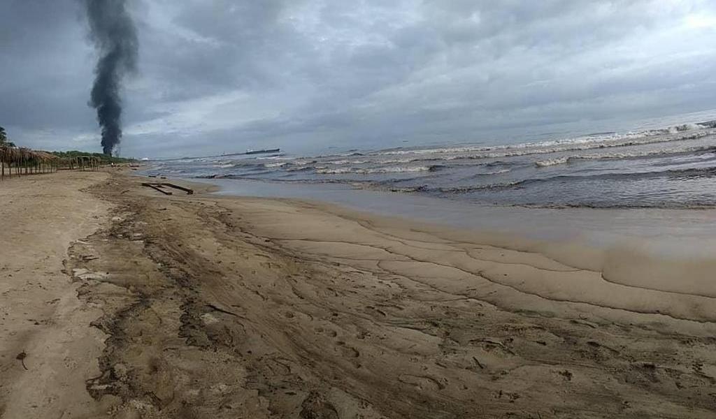 Derrame de petróleo produce daño ambiental en el noroeste de Venezuela