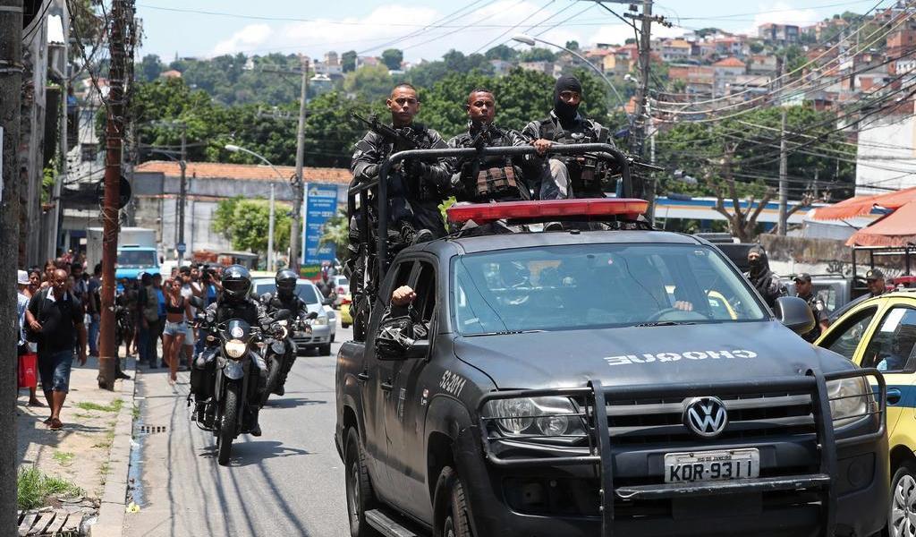 Operación contra el mayor grupo criminal de Brasil deja un muerto y 4 detenidos