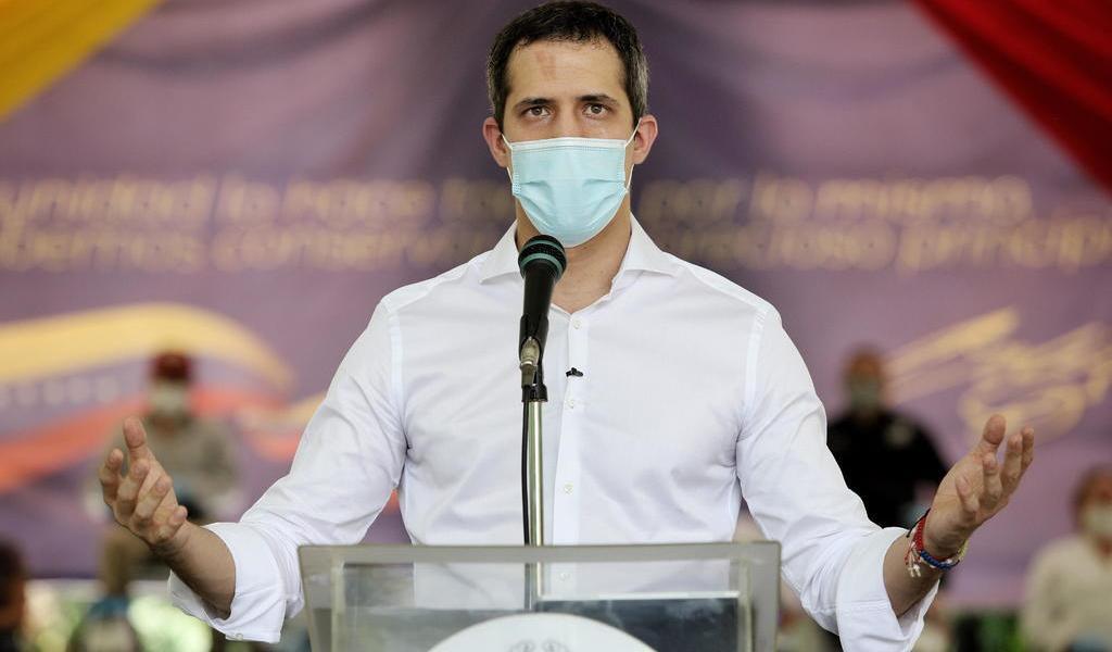 Pide Guaidó a Europa 'fijar los mínimos' para las elecciones en Venezuela