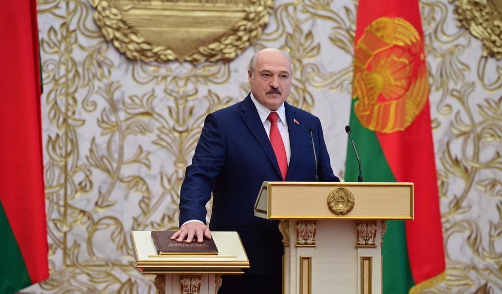 Unión Europea no reconoce a Lukashenko como presidente de Bielorrusia