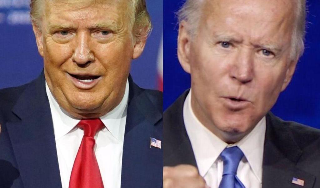 Trump y Biden preparan su primer cara a cara, un debate 'beligerante'