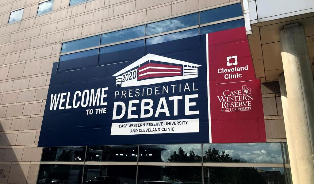 Debate presidencial de EUA en tiempos del COVID-19