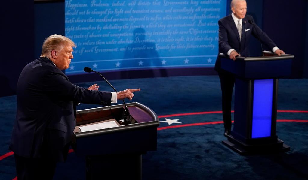 Cambiarán formato de debates entre Trump y Biden para evitar caos