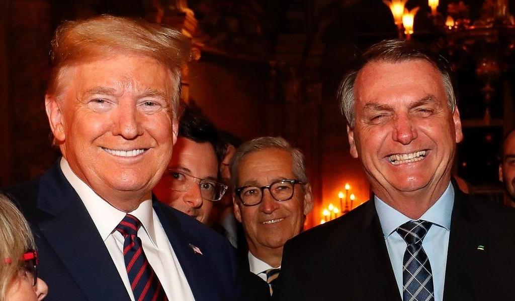 'Saldrá más fuerte', afirma Bolsonaro sobre recuperación de Trump