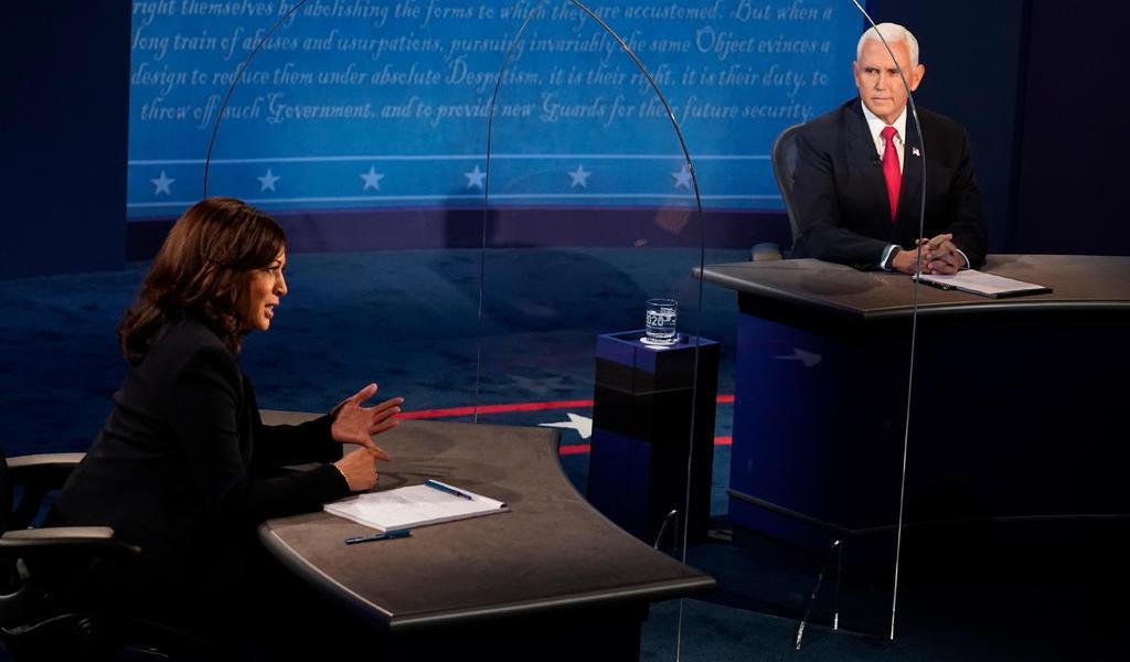 Trump hace sombra al debate de los candidatos a la vicepresidencia de EUA