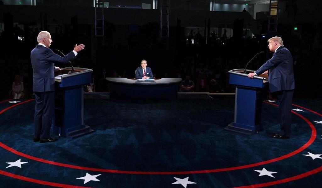 Anuncian debate virtual en EUA; Trump advierte que no participará