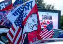 Realizan caravana a favor de Donald Trump y contra el comunismo en Miami