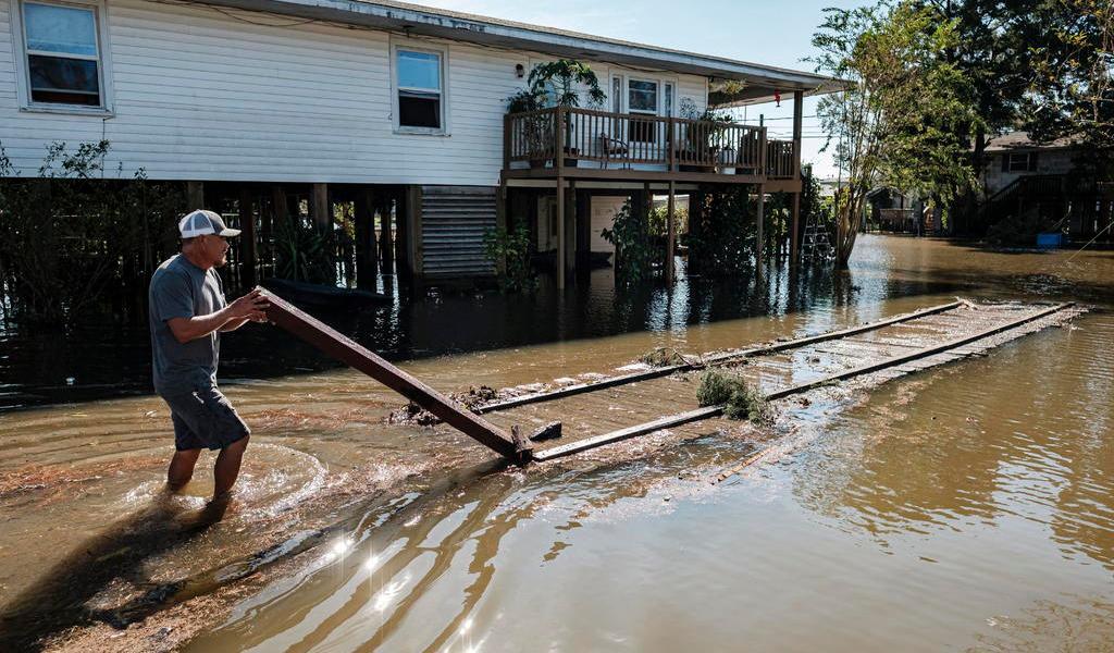 Luisiana, de nuevo entre escombros y destrozos