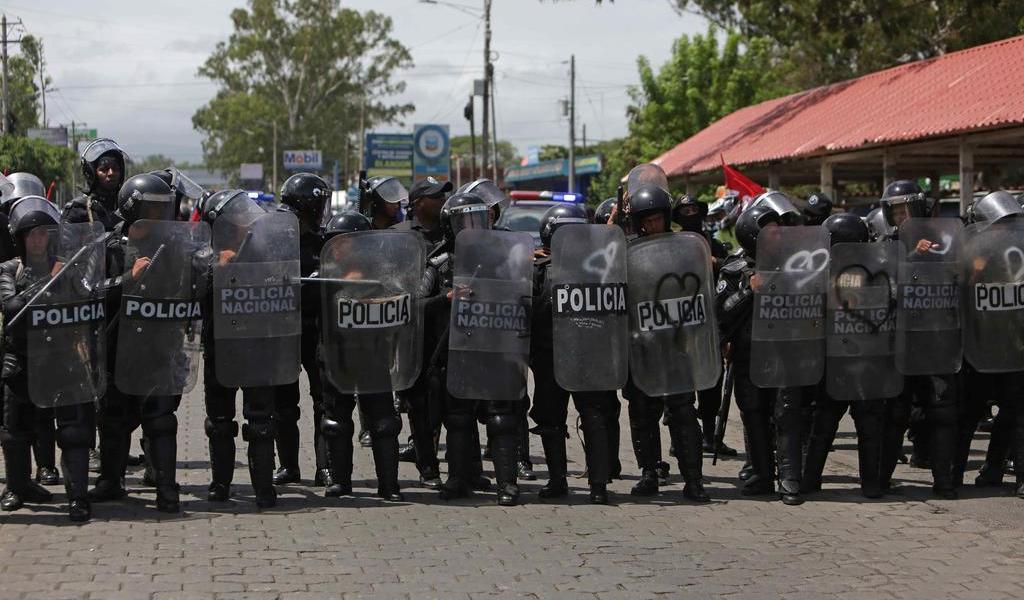 Intimida Policía de Nicaragua a opositores