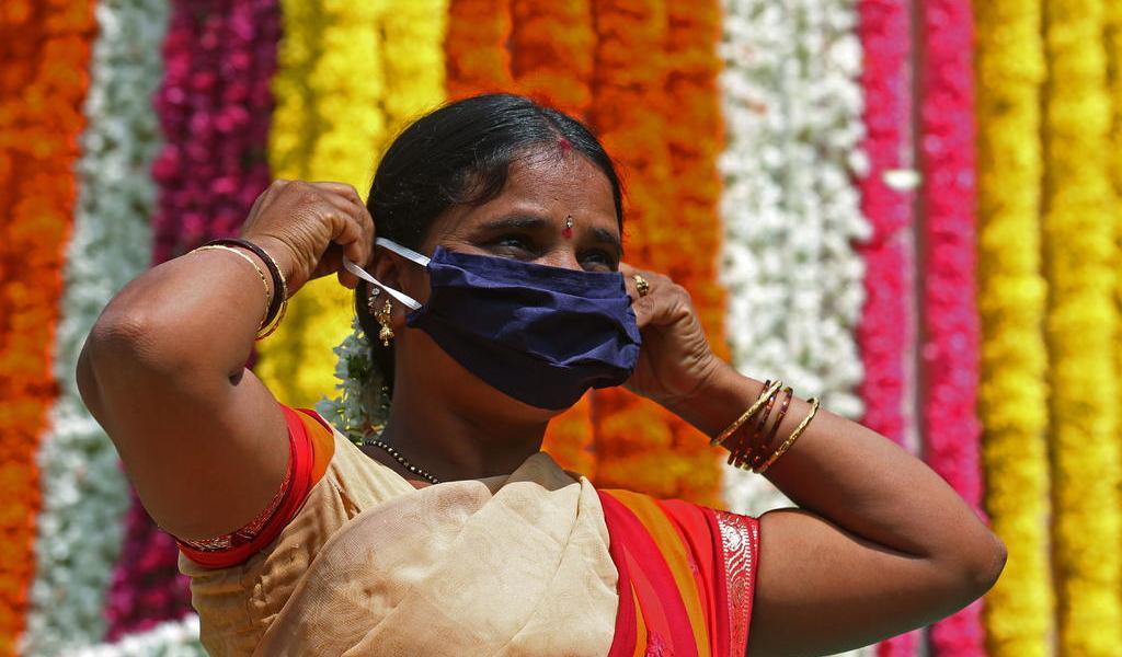 Supera India los 7 millones de casos acumulados de COVID-19