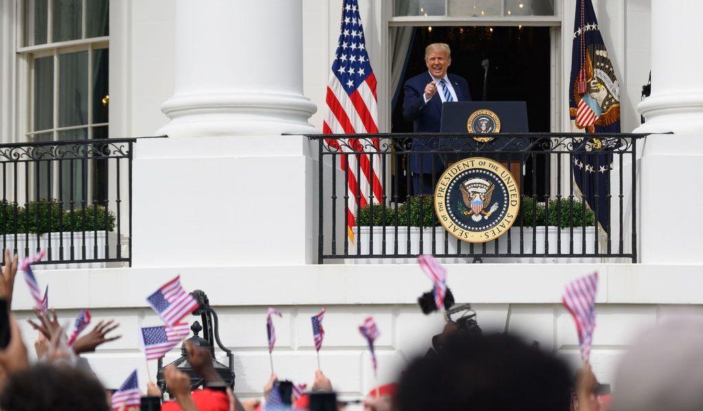 Parece que soy inmune al COVID-19: Trump