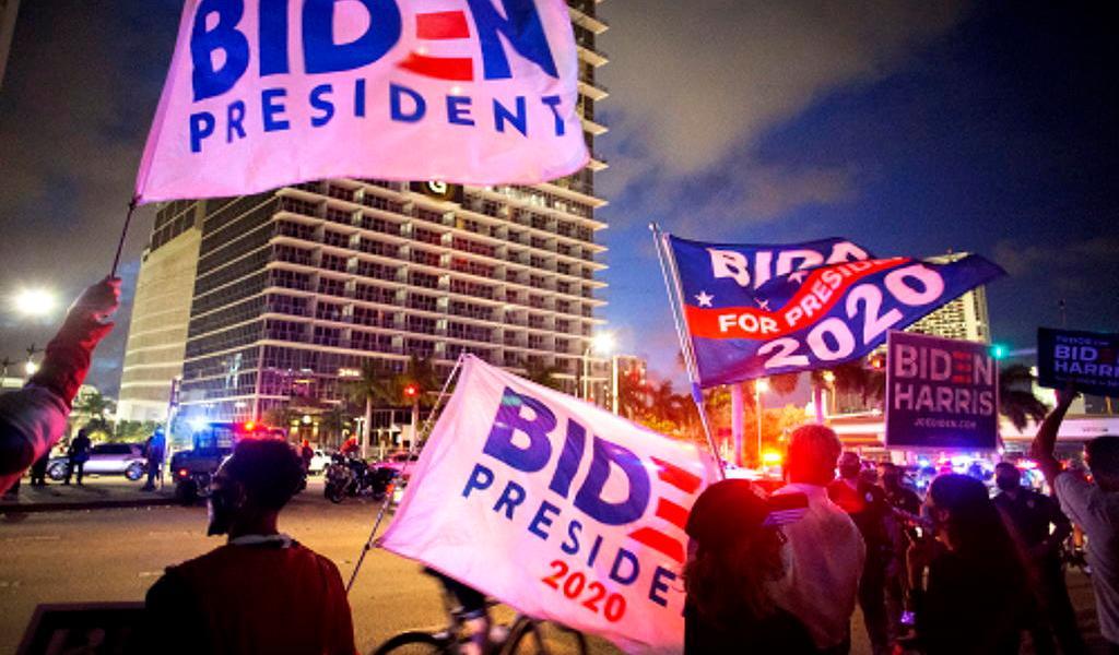 Lleva Biden la delantera; la suerte no está echada en Florida
