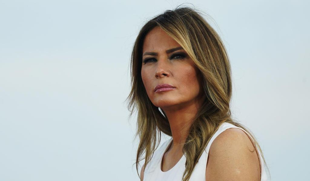 Melania Trump, sin reaparecer tras dar positivo a COVID-19