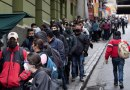 Filas en bancos y Migración por temor a conflicto postelectoral