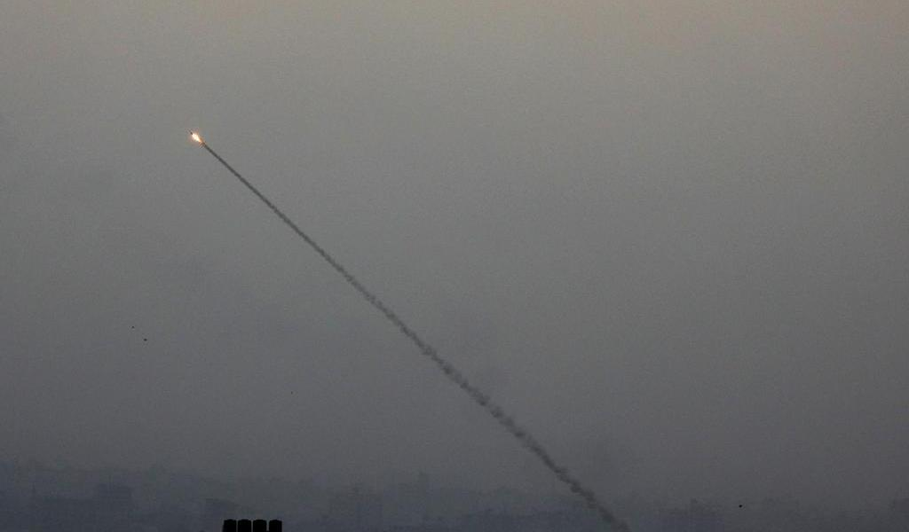 Disparan proyectil desde Gaza hacia Israel