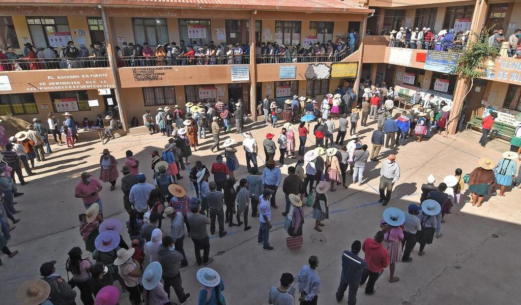 A meses de salida de Evo Morales, realizan nuevas elecciones en Bolivia