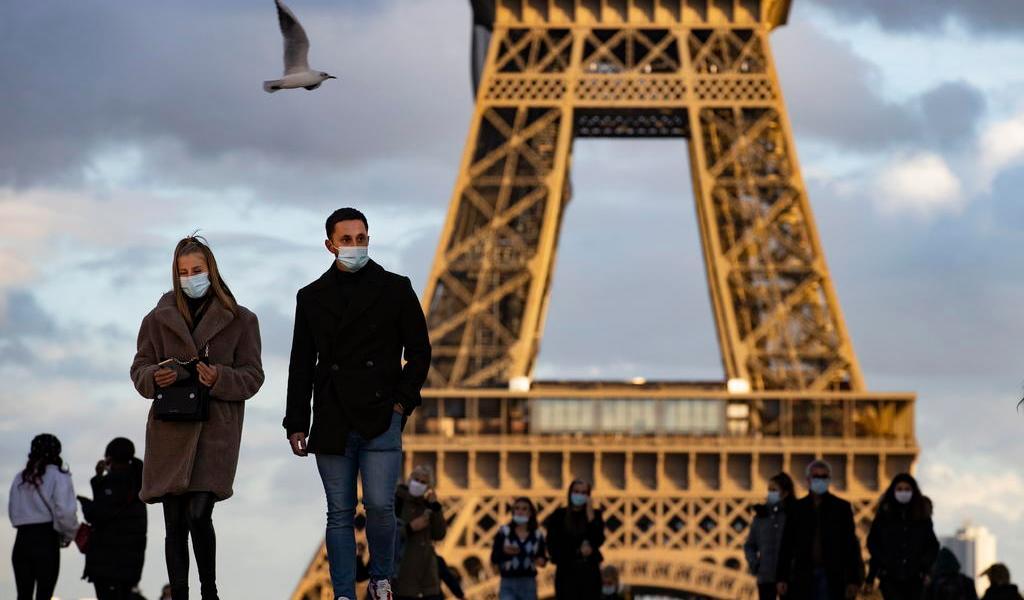 Francia registra 258 muertos por COVID-19 en un día