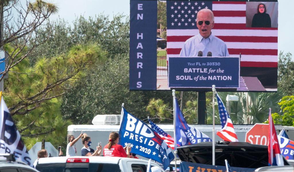 Llama Biden a votar para poner fin a 'Presidencia que dividió a EUA'