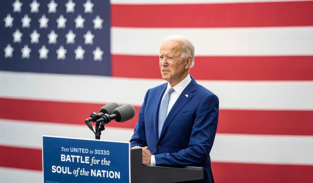 Prevé Biden ganar 'a lo grande' frente a Trump en EUA