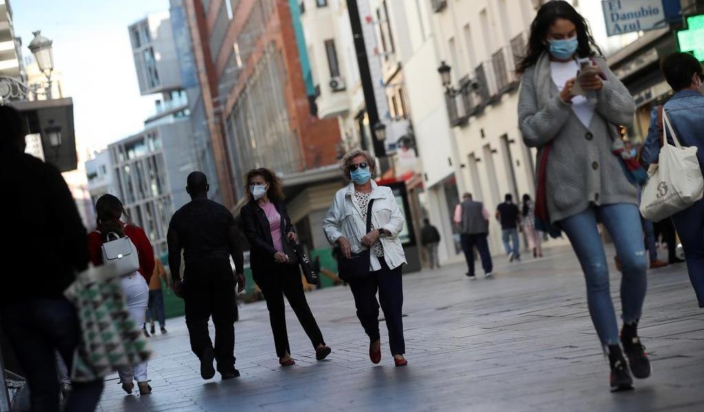 Reporta España 368 muertes por COVID-19 en 24 horas