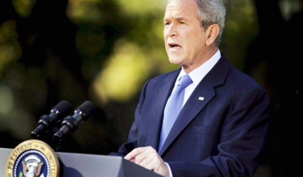 George W. Bush felicita a Joe Biden y Kamala Harris