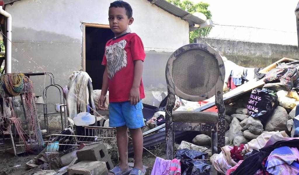 Devasta 'Eta' la vida de más de 1.2 millones de niños en Centroamérica