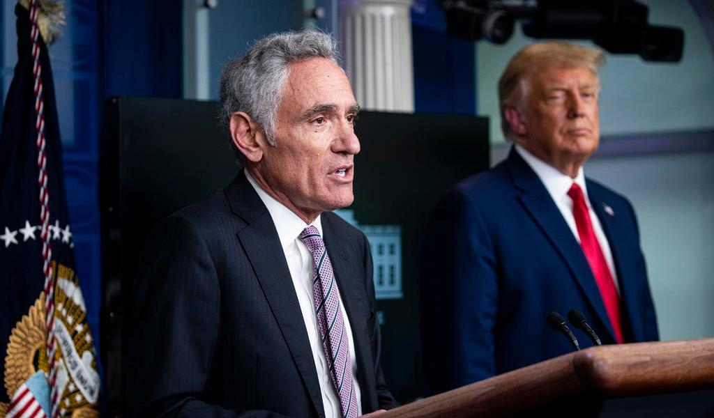 Renuncia Scott Atlas, asesor de Trump sobre coronavirus