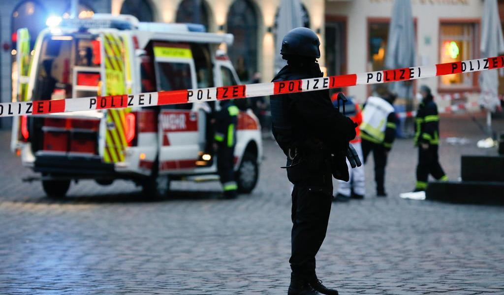 Suben a cinco los muertos por atropello en Alemania; hay un bebé entre las víctimas