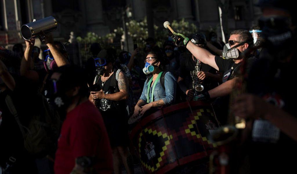 Rechazan indultar a detenidos en protestas