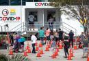 Alza de casos de COVID-19 llega a niveles de julio en Florida